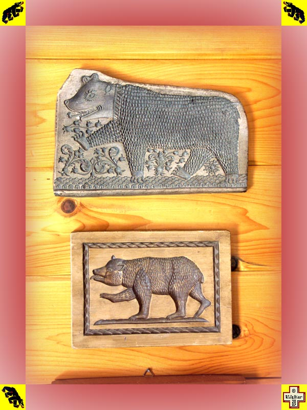 Photo: Bern Bear anise cookie molds.